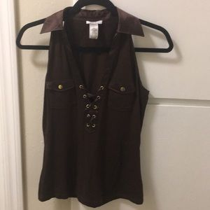 Gently worn cache blouse